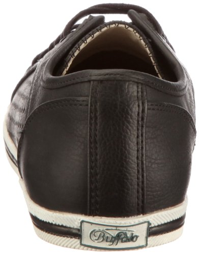 Negro para Zapatillas cordones con Buffalo mujer TUMBLE 507 9987 PU 126246 wvxwq1PO4