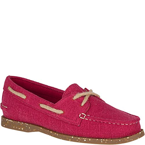- Sperry Top-Sider Authentic Original Eco Hemp Boat Shoe Women 7 Red