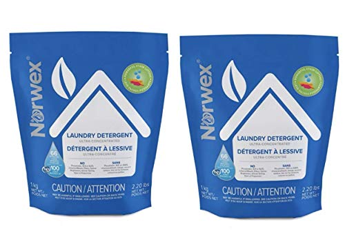 NORWEX Ultra Power Plus Laundry Detergent 2 Bags!! 2.2lbs Each
