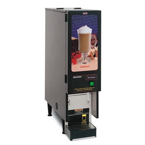 Bunn (SET00.0203) - Fresh Mix Hot Chocolate Dispenser - Model FMD-1 BLK