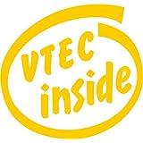VTEC inside 抜き文字ステッカー Mサイズ