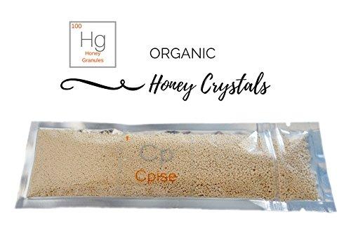 Crystallized Honey (Organic Honey Crystals: Granulated Honey .8 Ounces)