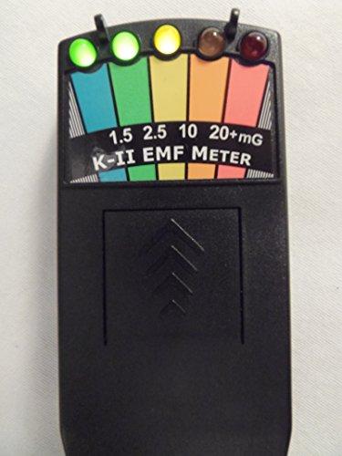K2 KII EMF Meter Deluxe BLACK-New & Improved Design
