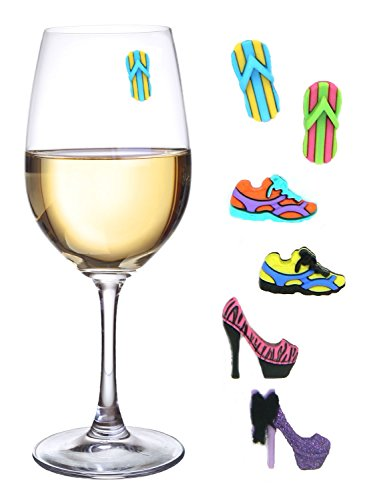 Magnetic Wine Glass Charms Markers product image