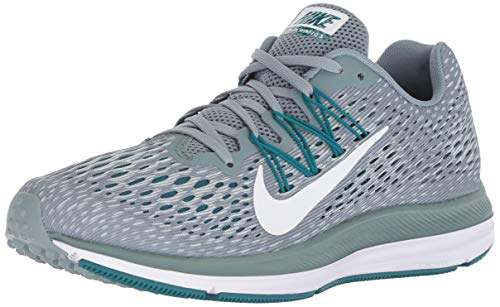 Nike Women's Air Zoom Winflo 5 Running Shoes (10, Blue/Green)