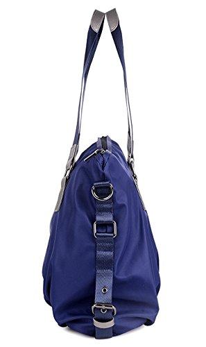 Vincico - Bolso al hombro de nailon para mujer azul azul morado