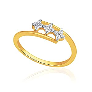 Giantti Women's 14KT Diamond Ring - IGL Certified (0.152 Ct, I1 Clarity, GH-Colour)