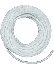Lehigh ND6100X 3/16-Inch by 100-Feet Nylon Diamond Braided Rope, White