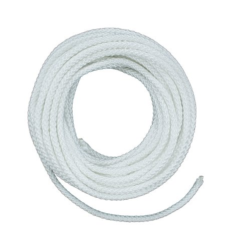 Lehigh ND6100X 3/16-Inch by 100-Feet Nylon Diamond Braided Rope, (White Diamond Rope)