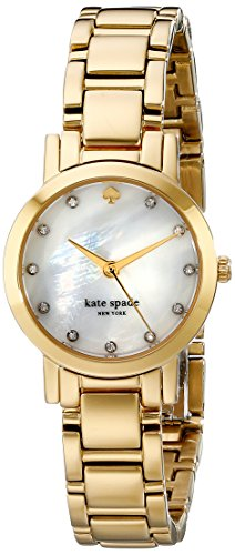 kate spade new york Women's 1YRU0145 GRAMERCY MINI Analog Display Japanese Quartz Gold Watch