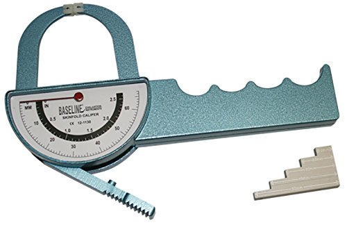 DSS Baseline Medical Skinfold Calipers (Medical Skinfold Caliper - Deluxe Dual-sided (Baseline Skinfold Caliper)