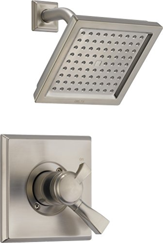 (Delta Faucet T17251-SP Dryden Monitor 17 Series Shower Trim, SpotShield Stainless,)