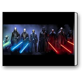 Genial Jedi And Sith Star Wars Canvas Prints For Modern Wall Art For Home  Decoration 16 X