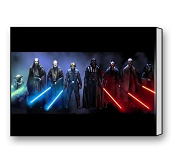 Jedi And Sith Star Wars Canvas Prints For Modern Wall Art For Home  Decoration 16 X