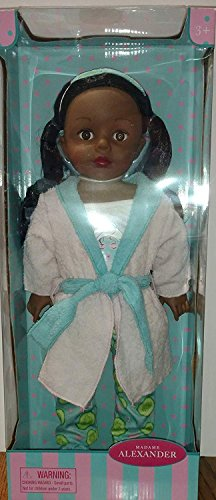 """Madame Alexander Dolls 73166 18"""" Spa Day Collection African"""