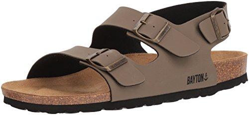 Bayton Men's ACHILLE Sandal, Khaki, 40 Medium EU (7 US) from Bayton