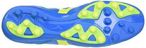 Mizuno Morelia Neo Kl Ag, Botas de Fútbol para Hombre Blu (Diva Blue/Safety Yellow)