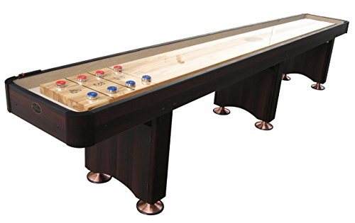 Playcraft Woodbridge Shuffleboard Table, Espresso, 16-Feet