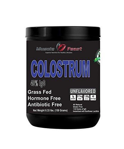Colostrum - Grass Fed, Hormone Free, Non GMO, with Non Proprietary Liposomal Delivery with significantly higher Bioavailability (150 grams)