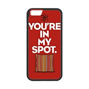 """CASECOCO(TM) The Big Bang Theory BBT Quotes PC TPU Case Cover Skin For iphone 6 4.7"""""""