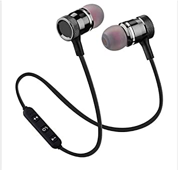 Buy Woos Headphone Bluetooth Headset With Mic For Black Online At Low Prices In India Amazon In