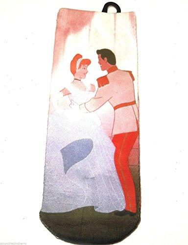 Prince Charming Shoes (Disney Cinderella Prince Charming Socks Ladies Fits US Shoe Sizes)