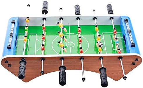 Quskto Futbolines Tabla de Fútbol Sala Fútbol Mesa de Juego for Adultos Sala de Juego de Deportes Horas diversión de la Familia (Color : Verde, tamaño : 50x25x12.5cm): Amazon.es: Hogar