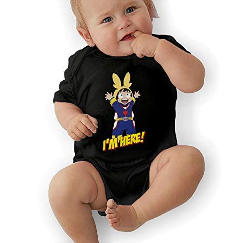 Ethel Electras My Hero Academia Baby Jersey Bodysuit Black 12M