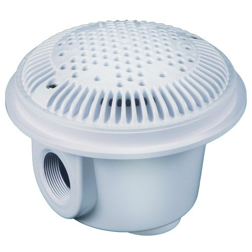 Hayward WG1049AVPAK2 White 2-Inch Dual Suction Outlet for Vinyl/Fiberglass Pools