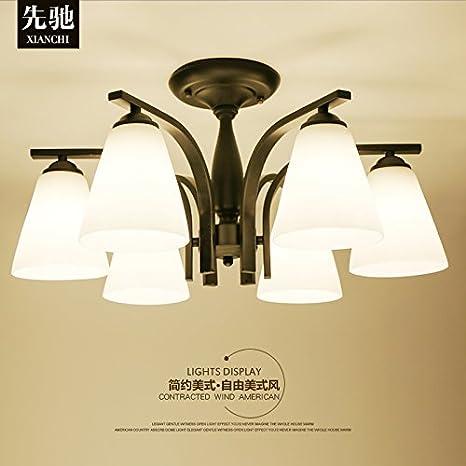 Ideas de techo minimalista salón cálido lámpara de techo de ...