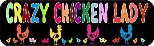 Chicken Bumper Sticker Window Stickers product image