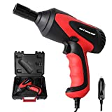 GETUHAND Car Impact Wrench 1/2 Inch & 12 Volt Portable Electric Impact Wrench Kit, Tire Repair Tools with Sockets and Carry Case