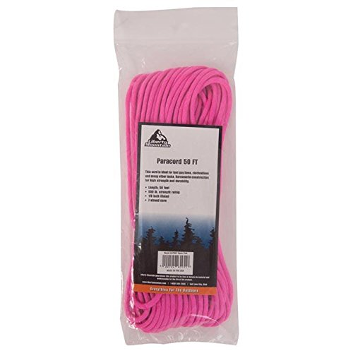 Liberty Mountain Paracord, Neon Pink, 50-Feet by Liberty Mountain (Image #1)