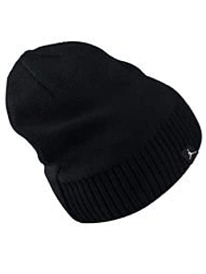 Amazon.com  NIKE Youth Jordan Jumpman Knit Beanie Ski Skull Cap ... 22d4fb71f64