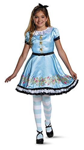 Ally Deluxe Descendants Wicked World Disney Costume, SMALL/4-6X (Party City Alice In Wonderland Costume)