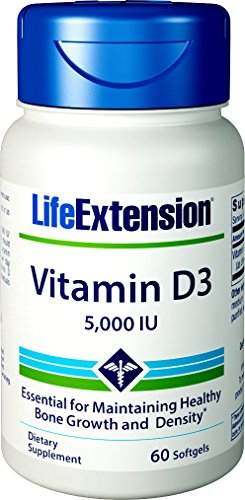 Life Extension Vitamin D3, 5000 IU, 60 ()