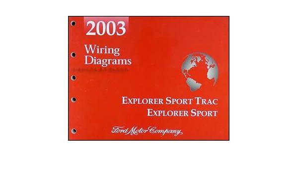 2003 ford explorer sport trac and explorer sport wiring diagram manual: ford:  amazon com: books