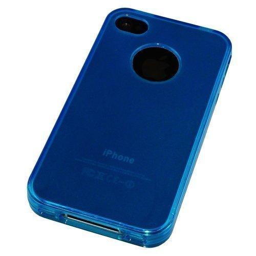 Avcibase coque de protection en silicone tPU pour apple iPhone 4/4S bleu