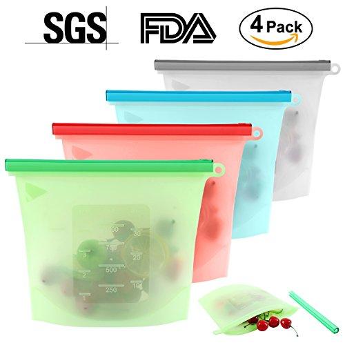 reusable freezer bags silicone - 8