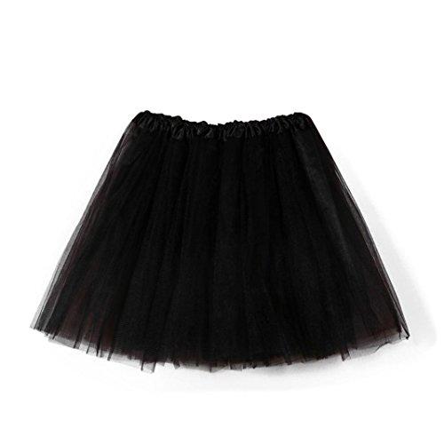 Sixcup Tutu Jupe Jupon Noir Tulle Jupe Mini Pettiskirt Ballet Femme Tutu Adulte Danse Stretch Court Pliss Jupe Gauze Robe lastique D'lastique rwH0rqWxRv