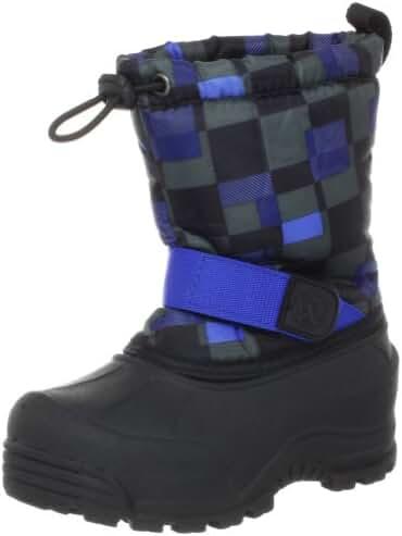 Northside Frosty Winter Boot (Toddler/Little Kid/Big Kid),Black/Royal,5 M US Toddler