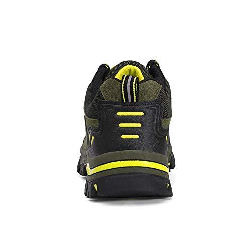 WOWEI Chaussures de Randonnée en Plein Air Imperméable Respirant Antidérapant Bottes de Trekking Promenades Voyages… 2