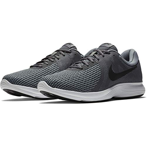 Nike Men's Revolution 4 Running Shoe, Dark Grey/Black-Cool Grey/White, 13 Regular US
