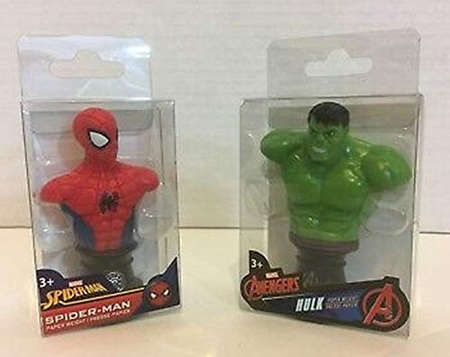 Marvel Super-Heroes Spider-Man & Hulk Mini Bust