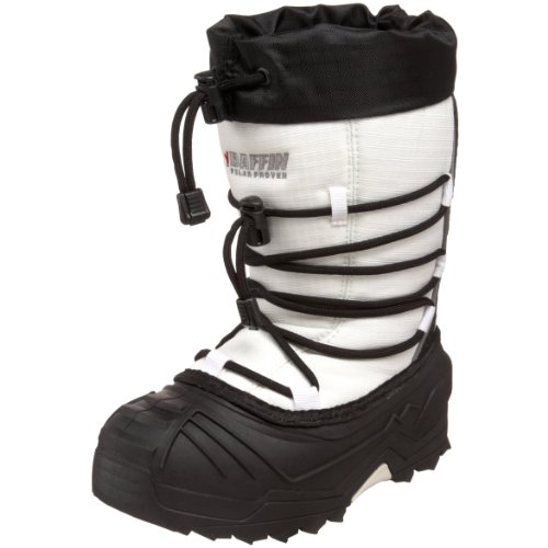 Baffin Young Snogoose Insulated Boot ,White,13 M US Little K