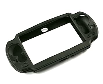 Protective Soft Silicone Case Cover Shell Protector for Sony PlayStation PS  Vita PSV 1000 -Black