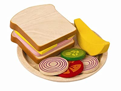 Plan Toys Planactivity Sandwich Meal Play Set by Plan Toys