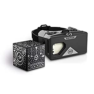 MERGE Cube and VR Headset Bundle for Augmented Reality and Virtual Reality, STEM Toy, Learning and Educational Games