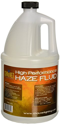 CHAUVET DJ HFG  High-Performance Haze Fluid for Hurricane Haze 2 | Fog Machines