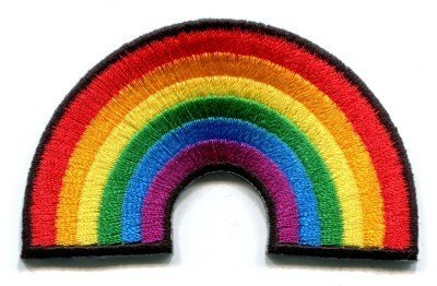 Gay pride lesbian rainbow flag retro love LGBT Appliques Hat Cap Polo Backpack Clothing Jacket Shirt DIY Embroidered Iron On/Sew On Patch